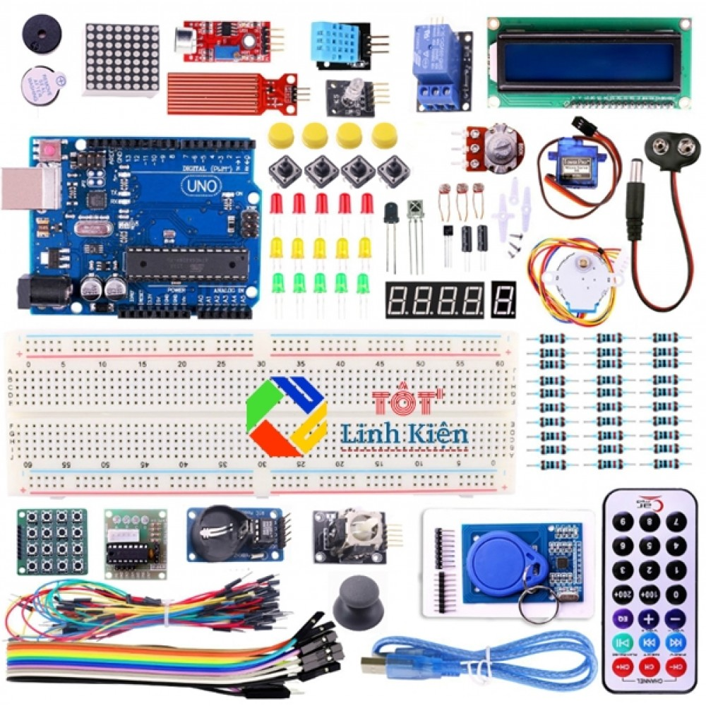 Bộ Arduino Advanced Kit