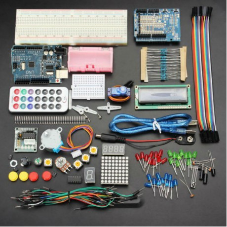 Bộ Arduino Basic Kit - Arduino Uno chip CH340