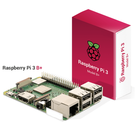 Raspberry Pi 3 Model B+ (Version UK)