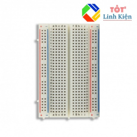 BreadBoard Mini MB-102 8.5cm × 5.5cm 400 lỗ - Test board